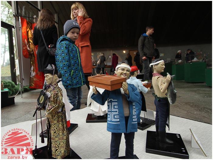 Японская выставка в Бресте. Музей Берестье
