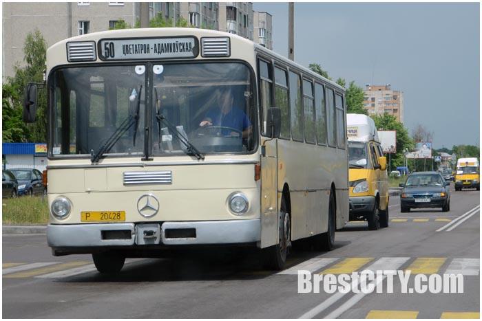Брест. Автобус №50. Коммерческий
