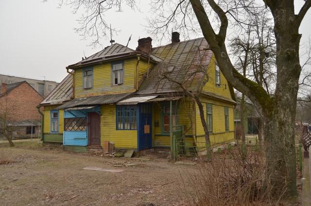Домик по улице Леваневского