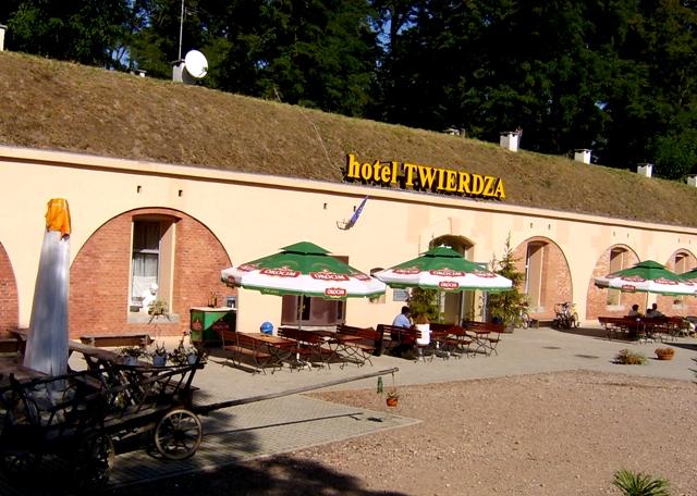 Форт под гостиницу в Польше