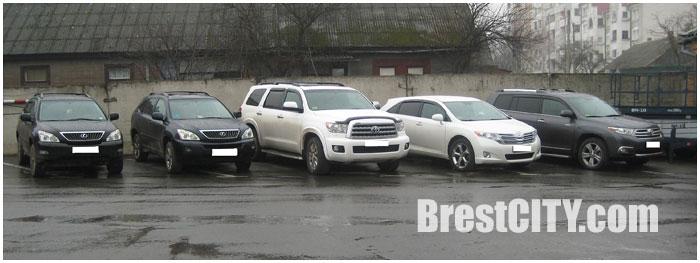 Автомобили из США в Беларусь