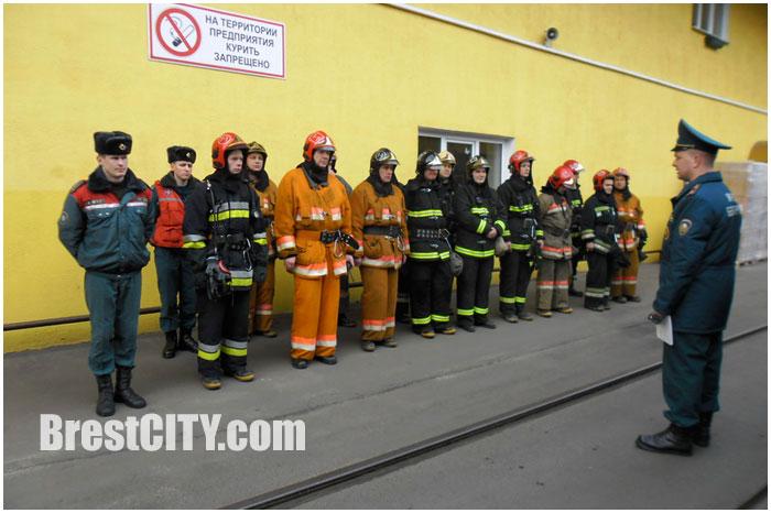 Ликвидация пожара на Белалко. Учения МЧС