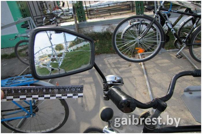 Авария с участием велосипедиста в Барановичах