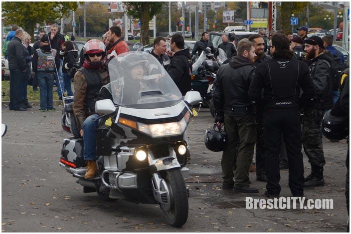 Закрытие мотосезона в Бресте 24 октября 2015. Фото BrestCITY.com