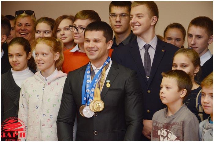 Виктор Братченя. Спортсмен. Армрестлинг