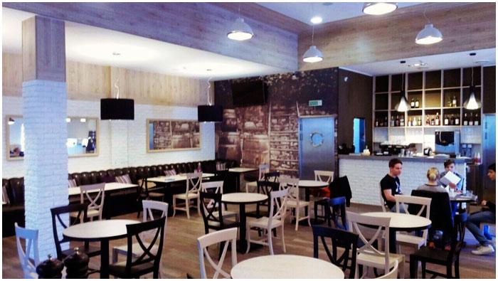 Кафе в Бресте на Вульке. Улица Рябиновая