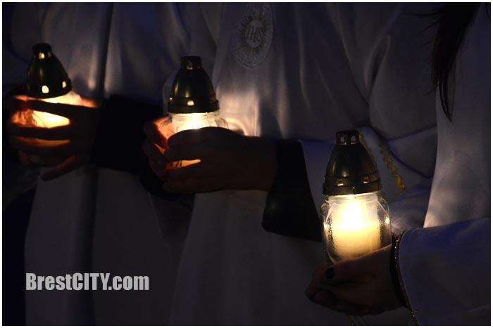 День памяти жертв ДТП в Бресте 15 ноября 2015. Фото BrestCITY.com