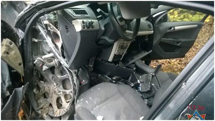 Авария возле Видомли в Каменецком районе 21 октября 2015