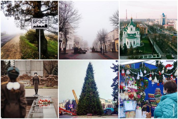Зимние фотографии Бреста в Инстаграм