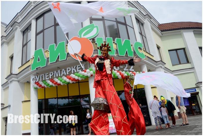 В Бресте на проспекте Машерова открылся супермаркет Дионис