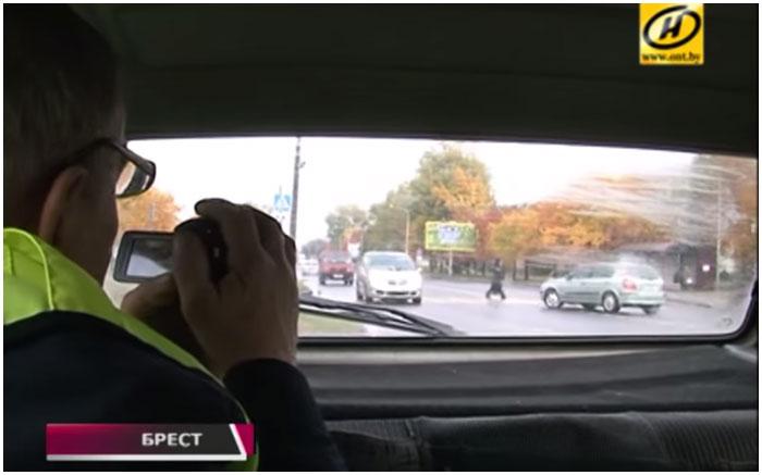 Конфликт дружинника и водителя в Бресте