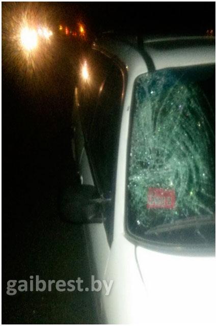 Авария в Кобринском районе Бреста 19 октября 2015