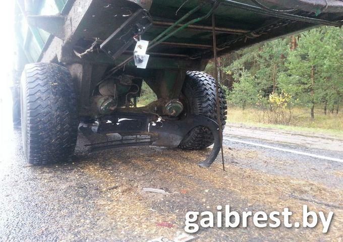 Авария в Малоритском районе