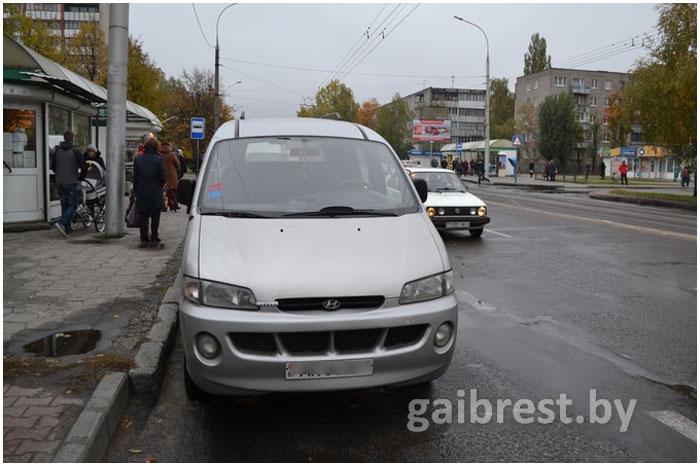 Школьника сбили на партизанском проспекте в Бресте