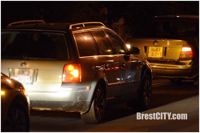 Авария в Бресте на Суворова 21 сентября 2015. Фото BrestCITY.com