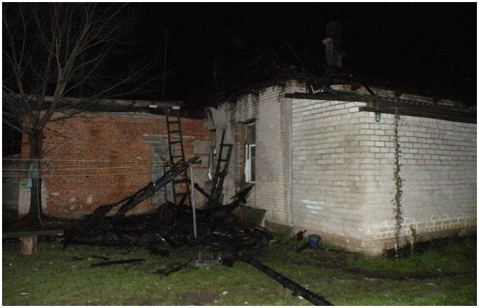 Пожар в Пружанском районе. Погибли двое детей