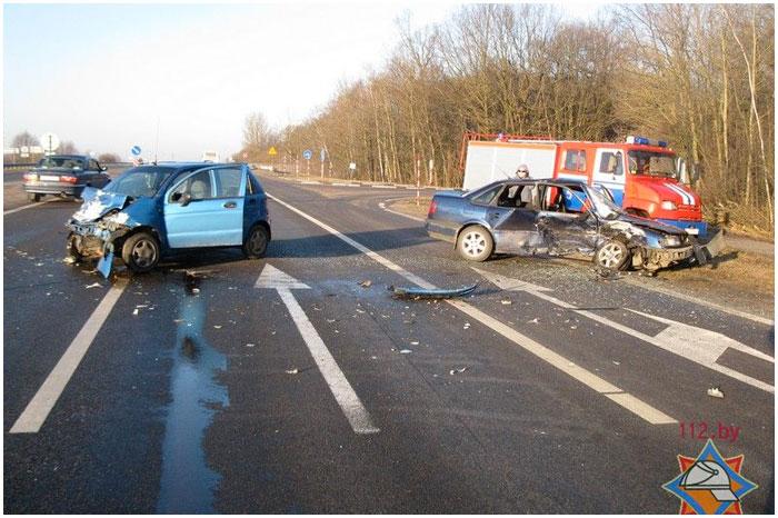 Авария в Жабинковском районе 3 марта 2015