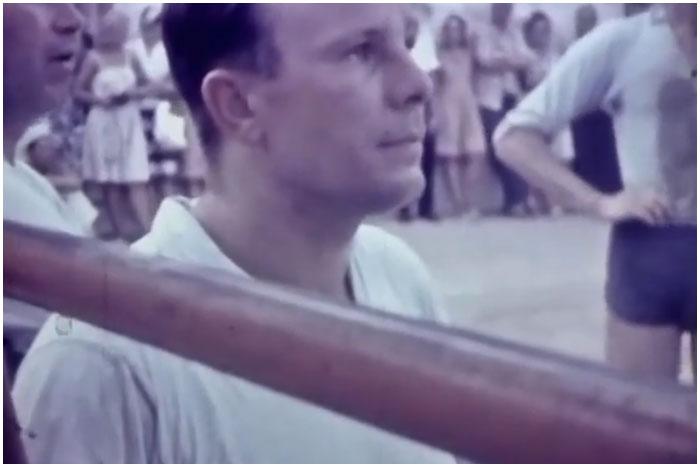 Любительские кадры Гагарина в Крыму в 1962 году