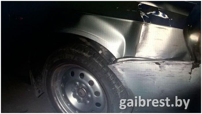 Стукнул автомобиль ГАИ