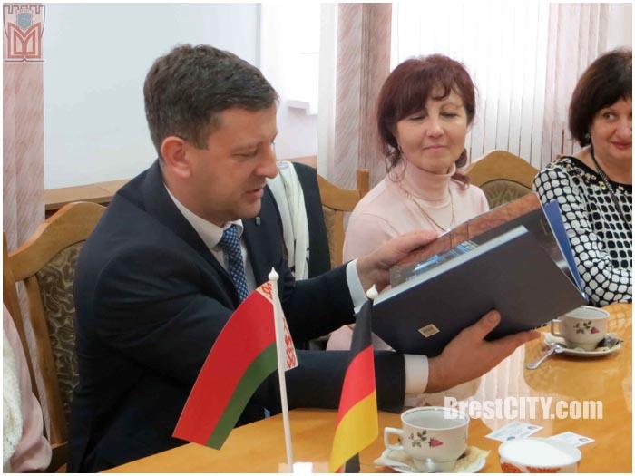 Молодежь из города-побратима Равенсбурга (Германия) гостит в Бресте
