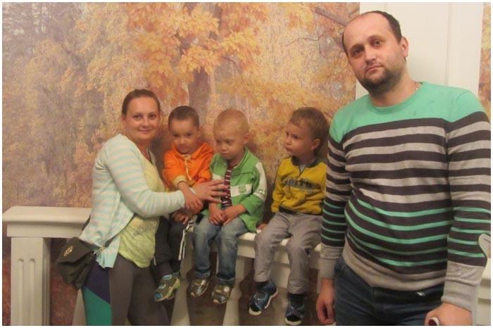 Помощь семье Хинич из Бреста