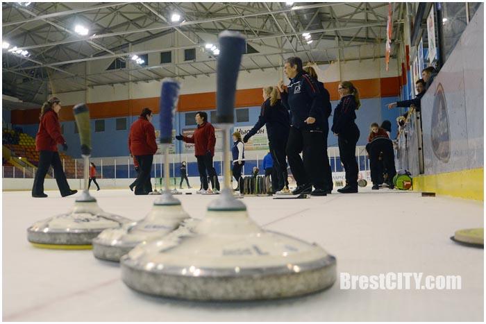 Соревнования по айсштоку в Бресте в Ледовом дворце. Кубок Европы