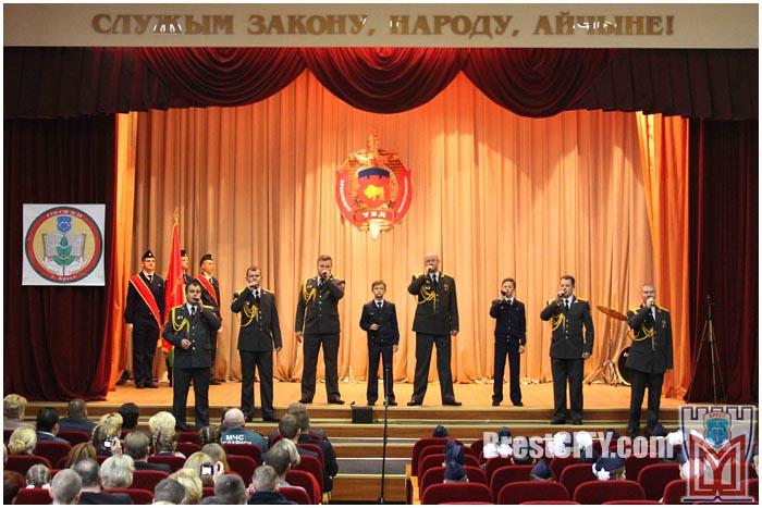 Посвящение учащихся 28-й школы Бреста в кадеты