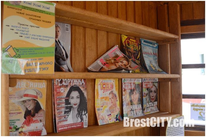 Павильон для буккроссинга (обмена книгами) в Кобрине. Фото BrestCITY.com