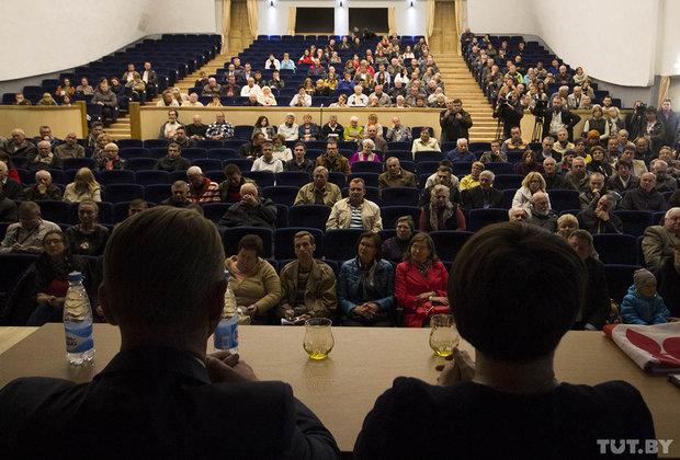Татьяна Короткевич на встрече с избирателями в Бресте