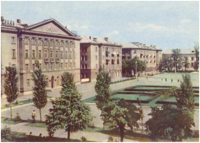 Костел на улице Ленина в Бресте