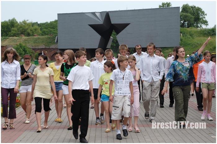 Экскурсия в Брестской крепости