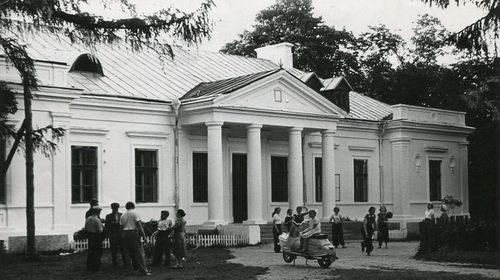 Усадебный дом в деревне Гремяча