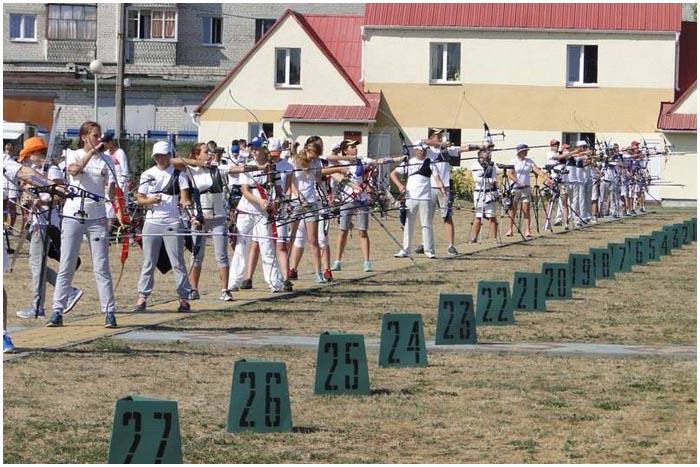 Соревнования по стрельбе из лука в Бресте