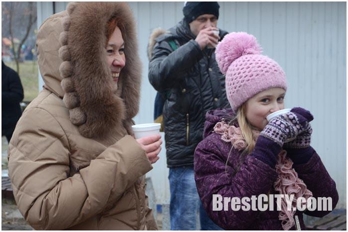 Масленица в Брестском парке 15 февраля 2015