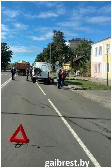 В Березе водитель МАЗа насмерть сбил женщину