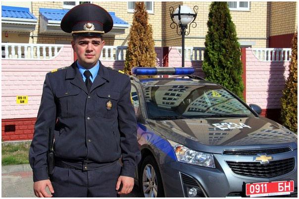 Милиционер стал свидетелем попытки угона авто
