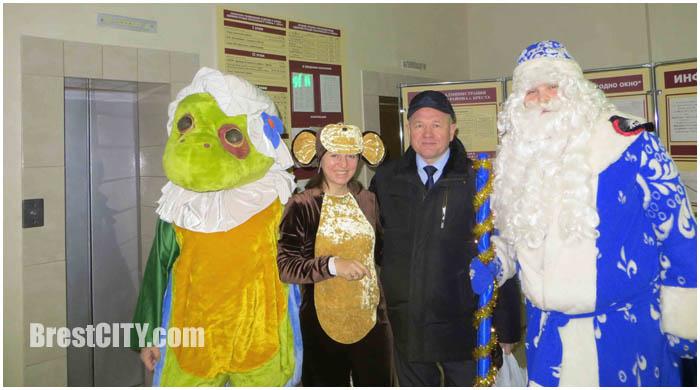 В администрации Московского района поздравляли Брестчан