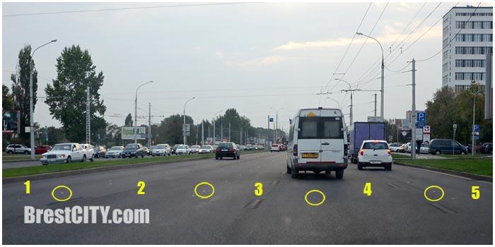 Улица Московская в Бресте станет пятиполосной. Фото BrestCITY.com