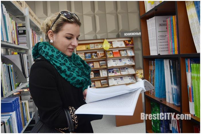 Научно-техническая библиотека на ул.Пушкинской в Бресте. Фото BrestCITY.com