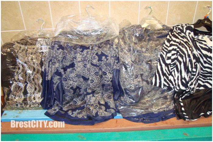 Контрабанда одежды через границу