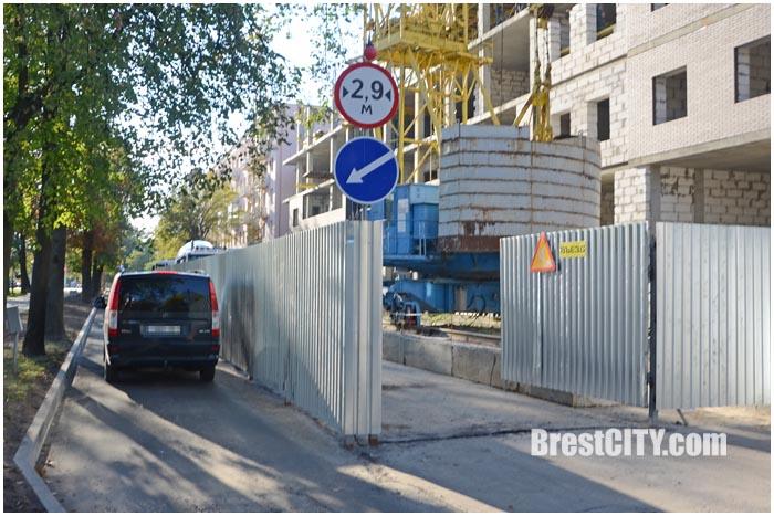 На улице Гоголя в Бресте возобновлено движение транспорта. Фото BrestCITY.com