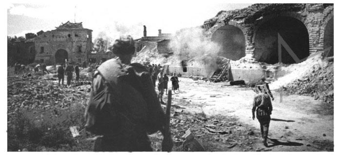 Освобождение города Брест