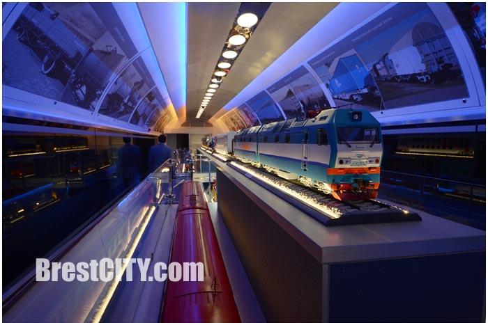 Выставочный поезд в Бресте