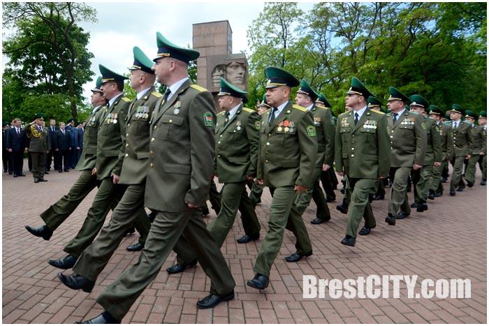 День пограничника в Бресте 28 мая 2015