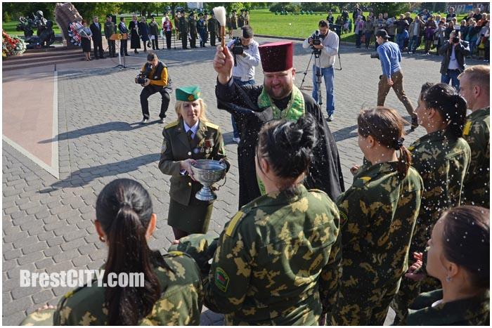 Ученики 5 классов 31 школы в Брестской крепости стали кадетами 29.09