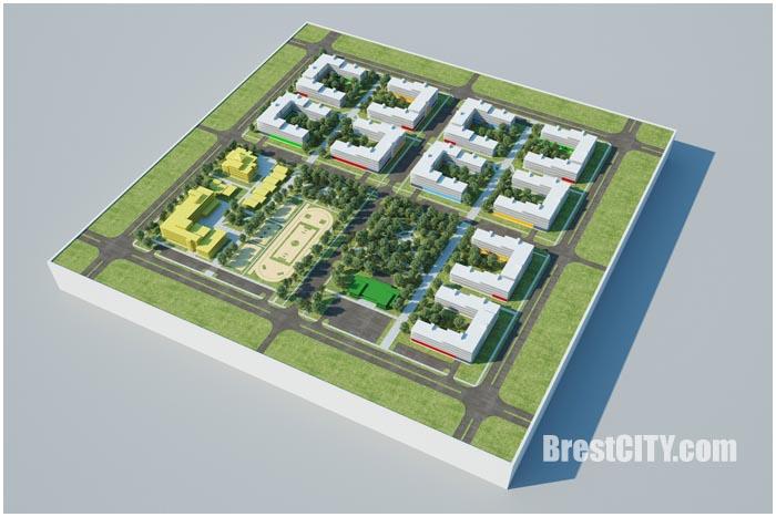 Проекты энергоэффективного жилого комплекса в Бресте