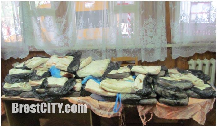 Незаконный ввоз сала через границу в Беларусь из Украины