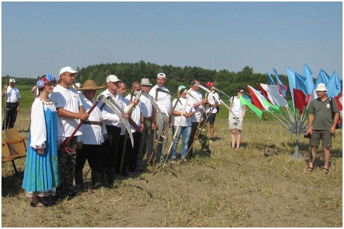Споровские сенокосы 2015 в Березовском районе