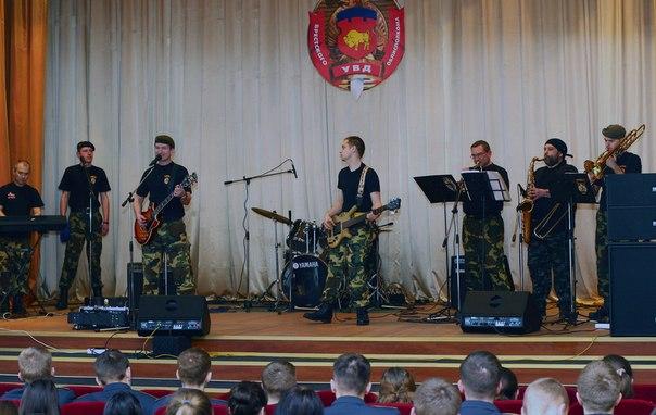 Выступление ВИА Спецназ в Бресте
