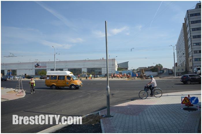 На перекрестке Пионерской и Высокой в Бресте появится светофор. Фото BrestCITY.com